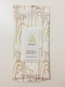 ALPHA-H LIQUID GOLD LUXE RESURFACING BODY CLOTHS
