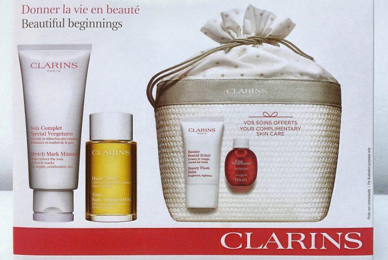 Clarins Maternity Kit Beautiful Beginnings