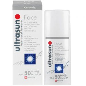 Ultrasun Anti-Ageing Anti-Pigmenation Face Formula SPF 50+