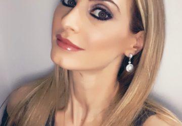 Christina Maria Kyriakidou After Peptame Hair Treatment