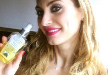 Christina Maria Kyriakidou & Organic Argan Oil.