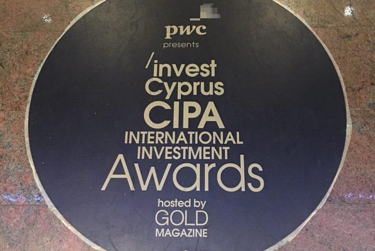 Invest Cyprus CIPA International Investment Awards