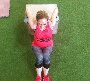 Christina Maria Kyriakidou Dips CHS Gym