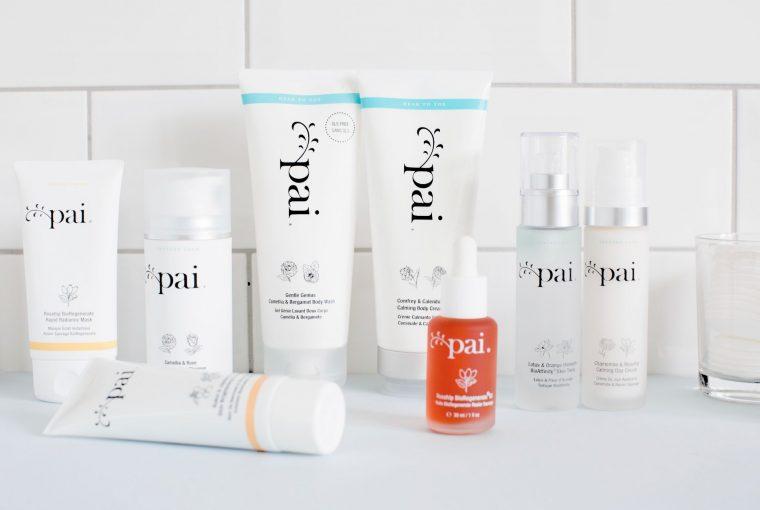 Pai Skincare Vegan Range