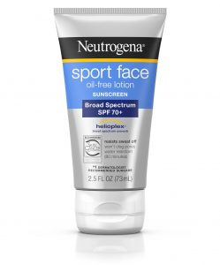 Neutrogena® Sport Face Oil-Free Lotion Sunscreen Broad Spectrum SPF 70+