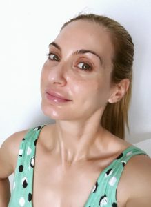 Christina Maria Kyriakidou & Ultrasun Face 50+ Antiageing & Antipigmentation Sunscreen