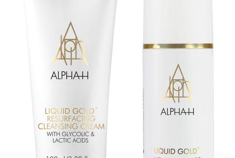 Alpha H Liqid Gold Resurfacing Cleansing Cream & Liquid Gold