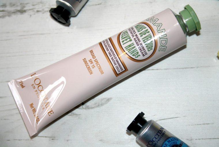 L'Occitane Velvet Hands SPF 15 Hand Cream