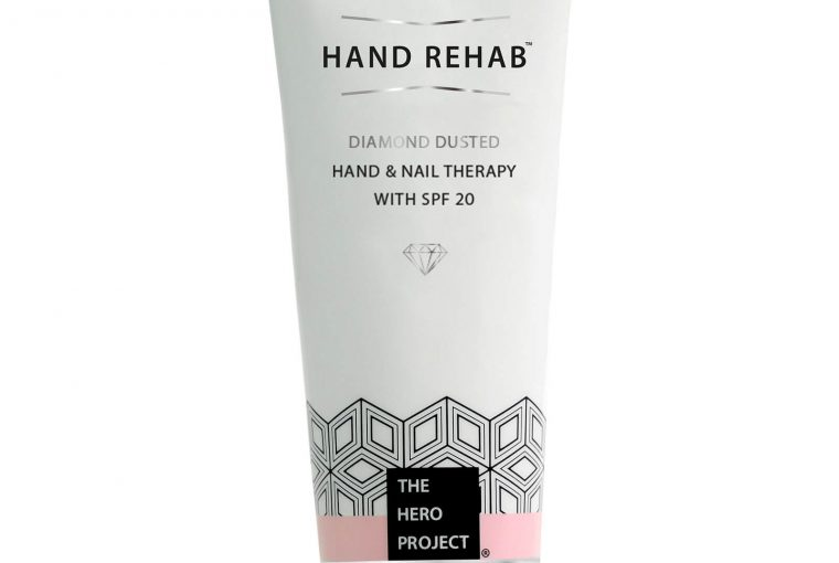 The Hero Project Hand Rehab Diamond Dust Hand & Nail Therapy SPF 20