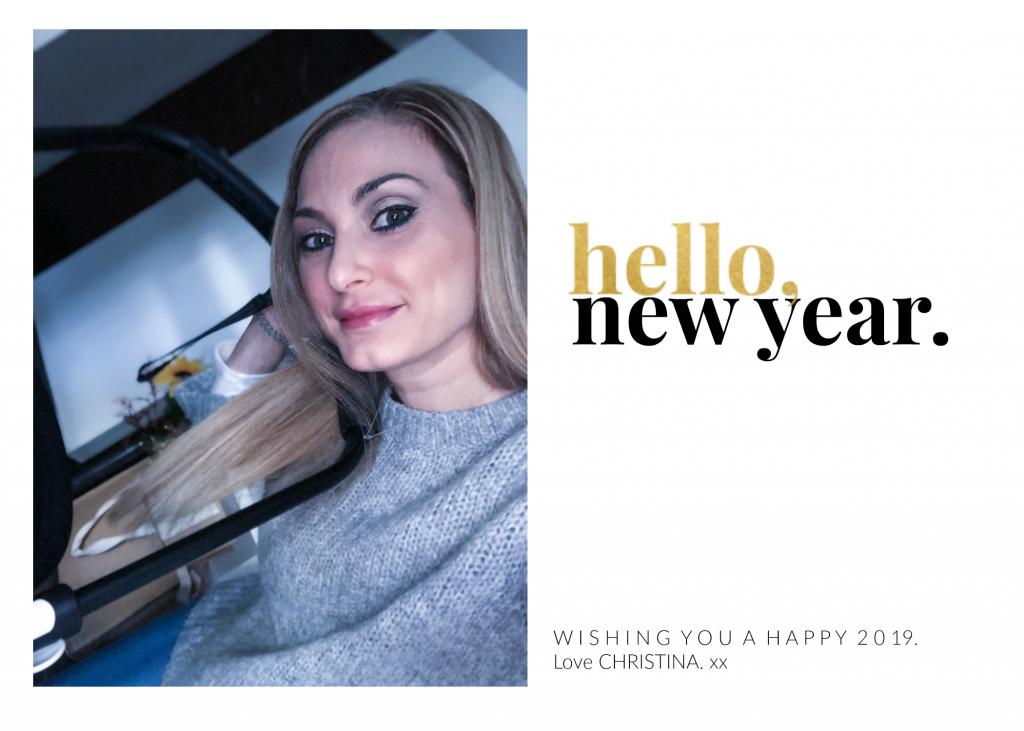 Christina Maria Kyriakidou Hello New Year