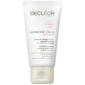 Decleor Harmonie Calm Organic Comfort Cream & Mask 2 in 1