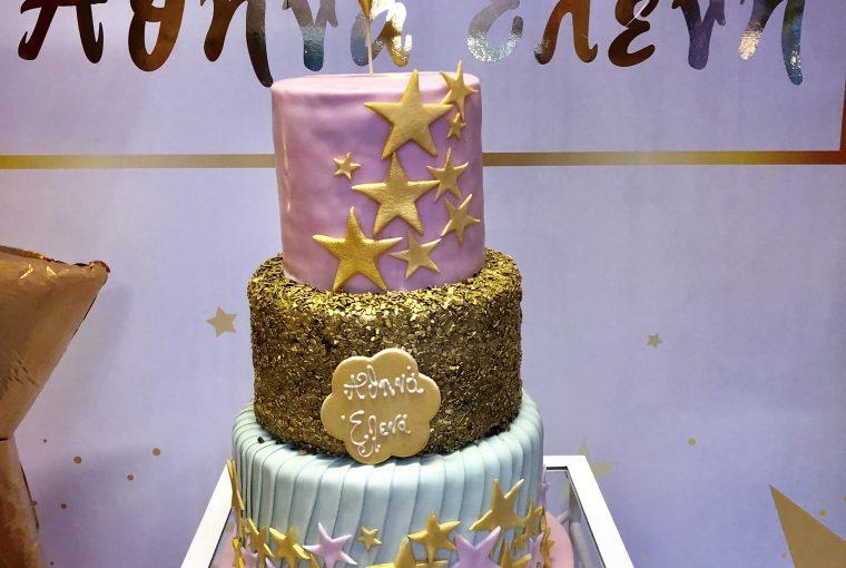 Athina Eleni Christening Cake