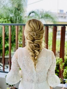Christina Maria Kyriakidou Hair Romantic by Christos Artemiou