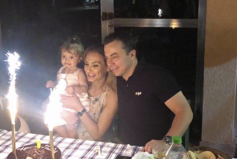 Athina Eleni Kyriakidou 1st Birthday