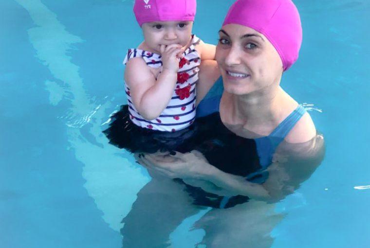 Christina Maria Kyriakidou Trittis Swimming